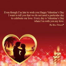 Valentine Picture Quotes - I want to tell you
