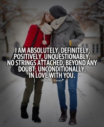 Cute Falling In Love Quotes - I am absolutely definitely positively