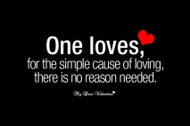 Cute Love Picture Quotes - One Loves