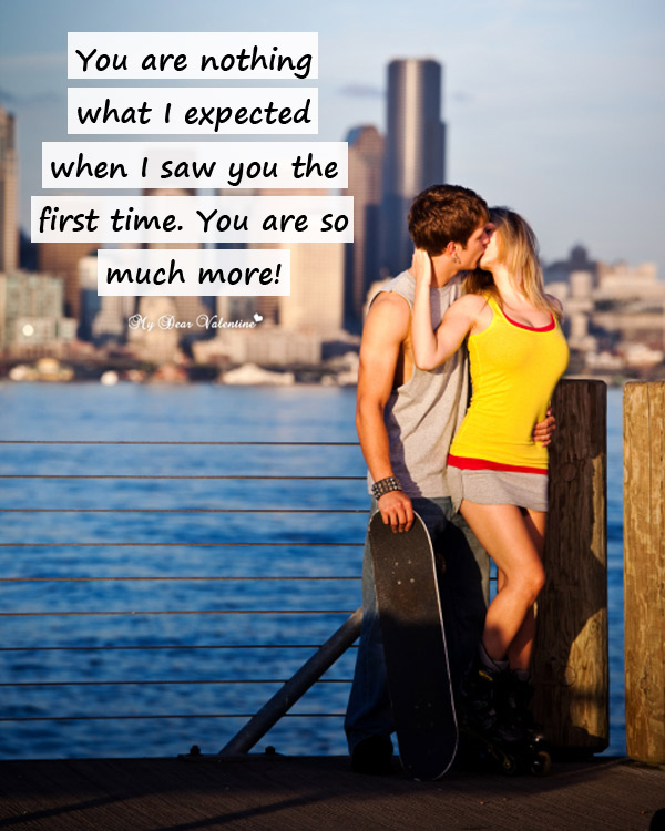 Cute Love Picture Quotes - You are nothing