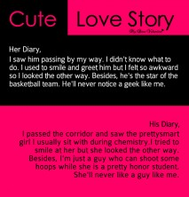 Cute Love Story - I saw him passing by