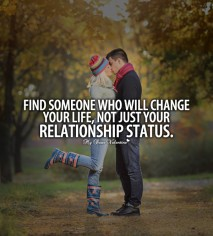 Deep Love Quotes - Find someone who will change you life