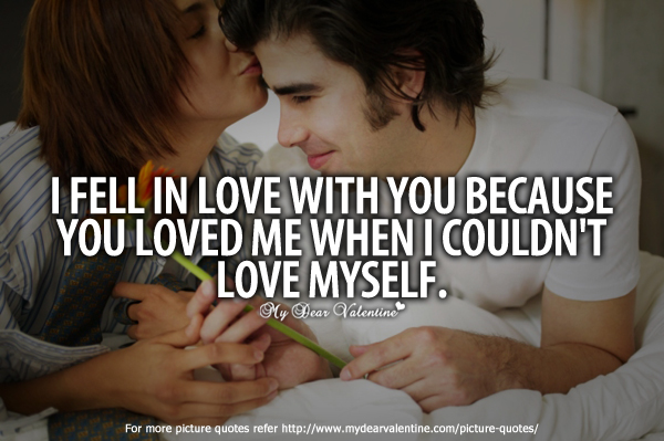 Falling In Love Quotes - I fell in love with you