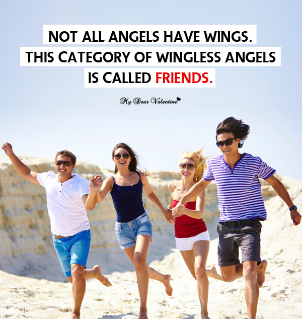Friendship Picture Quotes - Not all angels have wings
