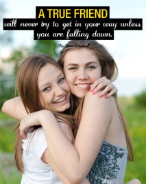 Friendship Picture Quotes-A true friend