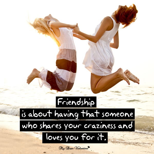 Friendship Picture Quotes - Friendship is about having that