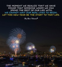 New Year Picture Quote - Let this new year