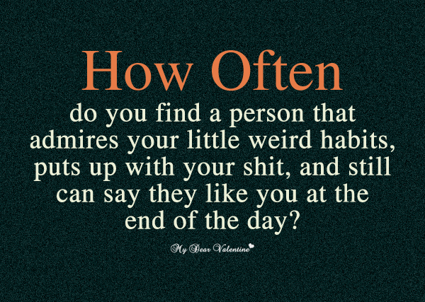 I Like You Quotes - How often do you find a person