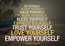 Inspirational life quotes - Be yourself