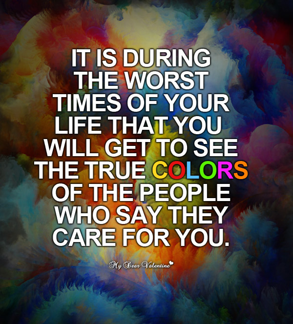 Life Picture Quotes - It's during the worst times