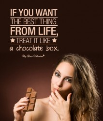 Life Picture Quote - Life's a Treat