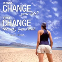Life Picture Quote - Change Yourself
