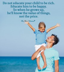Life Picture Quotes - Do not educate your child