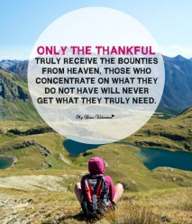Happy Thanksgiving Picture Quotes - Only The Thankful