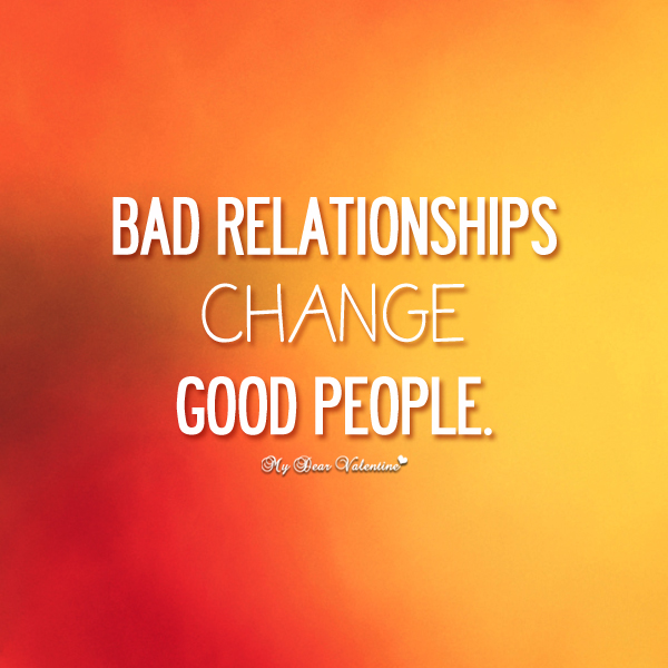 relationship changes better