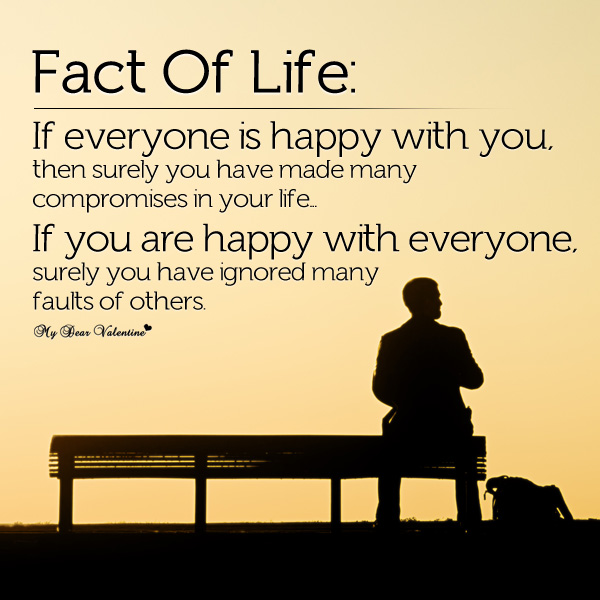 Life quotes fact of life