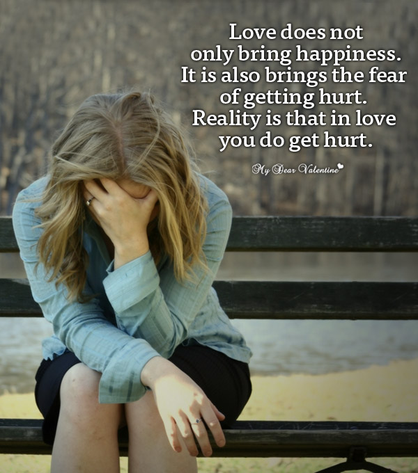Love Hurt Picture Quote - Love does not only bring happiness