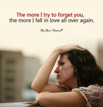 Love Hurt Picture Quote - Love all over again