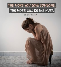 Love Hurt Picture Quote - The more you love someone