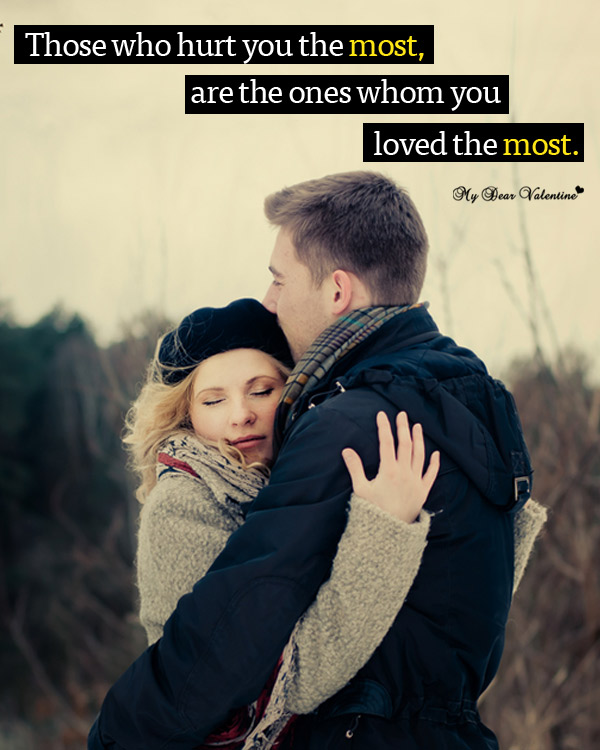 Love Hurt Picture Quotes - Those who hurt you