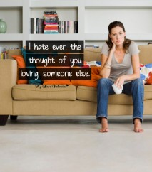 Love Picture Quote - For him I hate even the thought