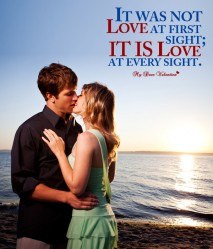 Love Picture Quote - Love All the Way