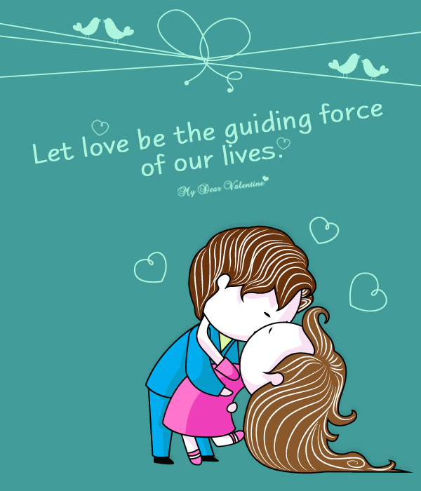Love Picture Quote - Guiding Force