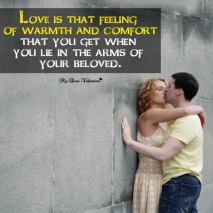 Love Picture Quotes - Love is that feeling