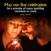 Love Picture Quotes - May our first celebration