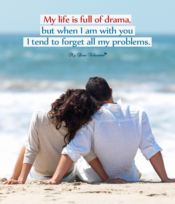 Love Picture Quote - My life is full of drama