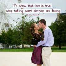 Love Picture Quotes - To show that love is true