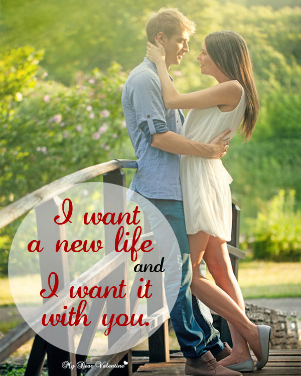 Love Picture Quotes - I want a new life