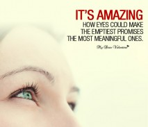 Love Picture quotes - Its amazing how eyes could