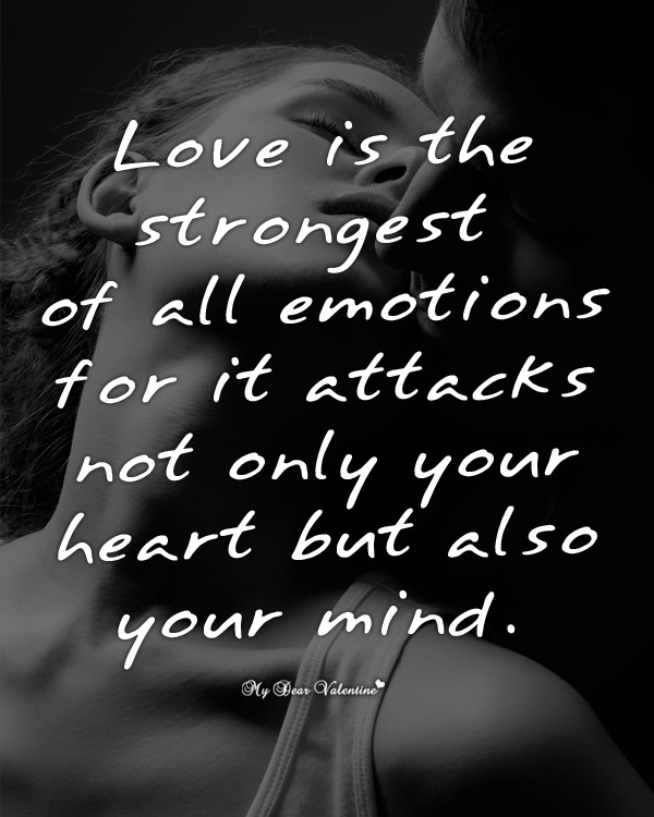 Love Picture Quotes - Love is the strongest