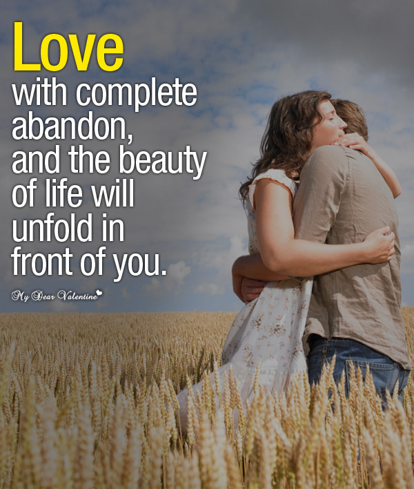 Love Picture Quotes - Love with complete