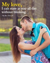 Love Picture Quotes - My love I can
