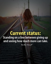 Love Picture Quotes - Standing on a line