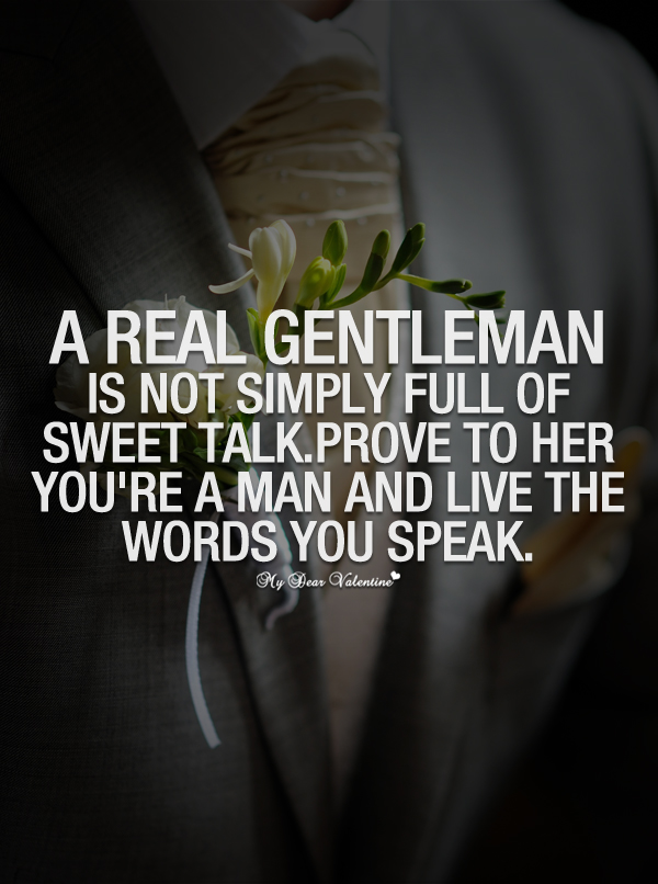 a real gentleman quotes - photo #2