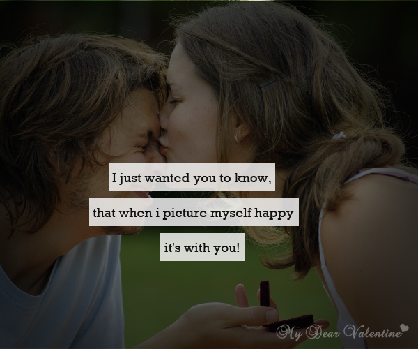 Love Quotes For Him - I just wanted you to know