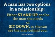 Love Picture Quotes - A man has two options