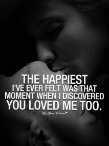 Love Quotes - The happiest I've ever felt