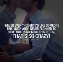 Love You So Much Quotes - I never ever thought I'd like someone