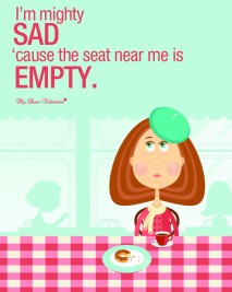 Missing You Picture Quote - I'm mighty sad