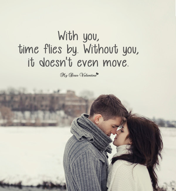 Missing You Picture Quote - With You