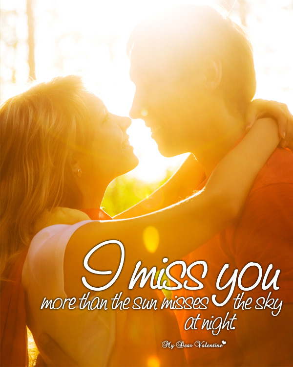 Missing You Picture Quotes - I miss you more than