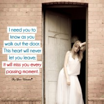 Missing you picture quotes - I need you to know