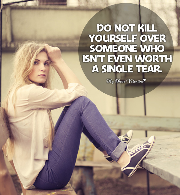 Motivational Picture Quote - Do not kill yourself