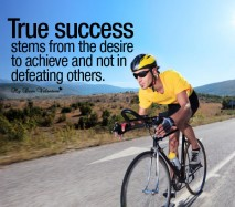 Motivational Picture Quotes - True success stems