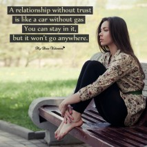 Sad Love Picture Quotes - A relationship without trust is like