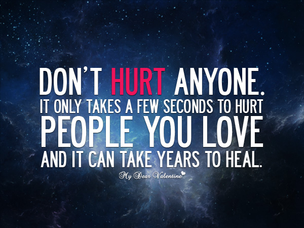 T Pain Quotes About Love : Dont hurt anyone - Sayings with Images